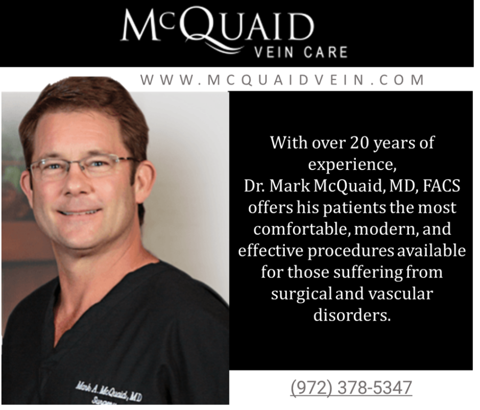 "Vein Care An ""Absolute Necessity"" For Health Management, Says McQuaid Vein Care"